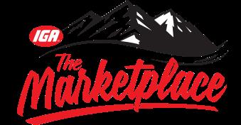 A theme logo of The IGA Marketplace